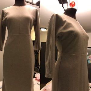 Max Mara Knitted Dress Beige
